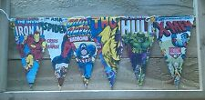 AVENGERS ASSEMBLE BUNTING/BANNERS KIDS/CHILDREN/DAD/PARTY/BOYS/CAVE/BEDROOM