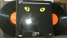 DO-LP CATS aus dem Hamburger Operettenhaus (StellaProd.) Polydor 1986 DIGITAL