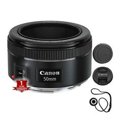 New Canon EF 50mm f/1.8 STM Lens Sale with Cap Keeper