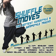 CD Hottest Hardstyle and Jumpstyle Tracks Shuffle Moves von Various Artists 2CDs