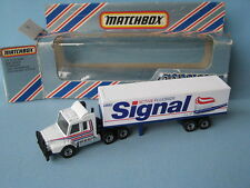 Matchbox Convoy Scania Box Truck Signal Toothpaste Toy Model Car Boxed