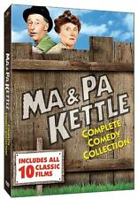 "MA AND PA KETTLE COMPLETE COMEDY COLLECTION 5 DISC DVD BOX SET ""NEW&SEALED"""