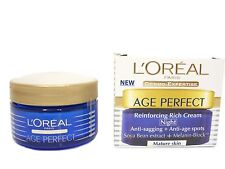 L'Oreal Age Perfect Reinforcing Rich Cream Night Cream  50ml - Batch Code:28H201