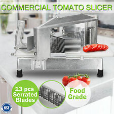 Commercial Tomato Slicer Onion Slicing Cutter Manual Cutting Machine 13 Blades
