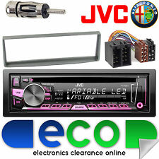 Alfa Romeo GTV 2003-2015 JVC CD MP3 USB Aux Ipod Car Radio Stereo Kit 24AR07