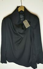 Bnwt AllSaints Black Bayle Monument Jacket UK 6 £228.**OFFER**