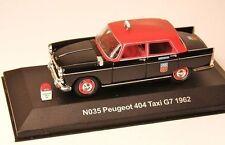 PEUGEOT 404 TAXI G7 1962 NOSTALGIE 1/43