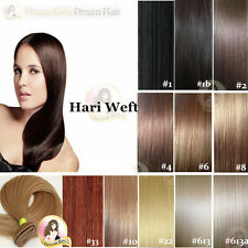 "24""India Remy Hair Extension Weft DOUBLE DRAWN 50g Brown/blonde/black"