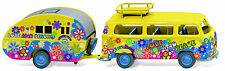 "Wiking 031573, VW T2 Bus, ""Flower Power"", MC Exklusiv, NEU, OVP"