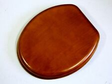 1X New Wooden Color Toilet Seat & Cover