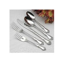 Oneida True  Rose 42 Piece Service for 8 Stainless Flatware