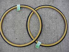 Pair of 700x35c Amber Wall COUNTRY CRUISER Tyres (37-622) Bike Cycle Hybrid