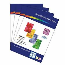200 Sheets 260gsm A4 Matt Photo Paper Double-Sided Printable for inkjet Printers