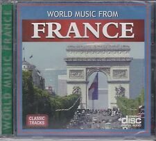 WORLD MUSIC FROM FRANCE - VARIOUS ARTISTS - CD - NEW -