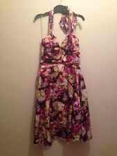 NEW RUBY ROX PINK/LIME FLORAL DRESS Size 6/8
