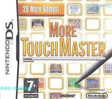 More Touchmaster Nintendo DS 7+ Compilation Game