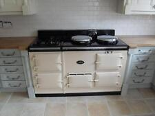 4 Oven Fully Reconditioned Gas Fired Aga Cooker with Power Flue - 30 Colours