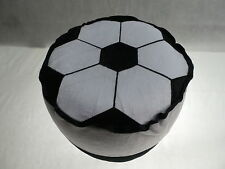 Football Kids Adults Seat Home Office Stool Pouffe Inflatable Portable Travel UK