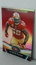2011 Topps Platinum Red #117 PATRICK WILLIS (49ers)