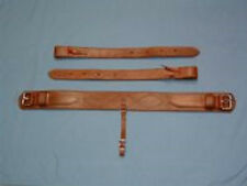 """5"""" COMPLETE Back/Rear Girth Set - OILED - WORKING QUALITY - USA AMISH MADE!"""