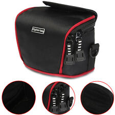 Waterproof Compact Camera Case Bag + Strap For Canon Nikon Panasonic Samsung