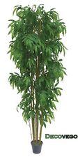 Bambus Groß  Kunstbaum Kunstpflanze Künstliche Pflanze 210cm Decovego