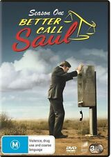 Better Call Saul : Season 1 (DVD, 2015, 3-Disc Set)