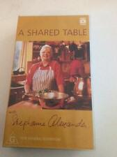 STEPHANIE ALEXANDER A SHARED TABLE MINT SEALED ABC  VHS VIDEOS PAL~ A RARE FIND