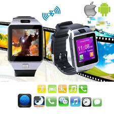 New Wireless Smart Watch for iPhone Samsung etc Android Phone Camera Video SIM
