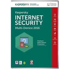 New Kaspersky Internet Security 2016 Multi-Device, 5 Devices PC KL1941UXEFS-6CD