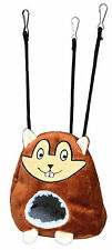 Cuddly Hamster Cave Hanging Bed Bag for Hamsters Mice & Small Rodents