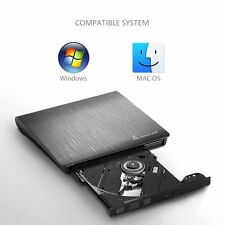 Notebook Laptop Notebook CD DVD RW Brenner USB 3,0 Slim DVD USB extern Laufwerk