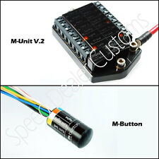 Motogadget M-Unit V.2 Motorcycle Switch Control Center and m-Button Combo