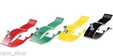Extremitätenklammern, Klammerelektrode für Erwachsene, Set 4 Stück farblich