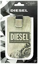 Diesel Whisper Roses Universal Medium Case Pouch Sleeve For iPhone, Samsung Ect