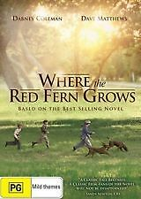 WHERE THE RED FERN GROWS - BRAND NEW & SEALED R4 DVD (DAVE MATTHEWS)