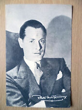 Film Star Real Photo Postcard- ROBERT MONTGOMERY+printed Autograph,Metro Goldwyn