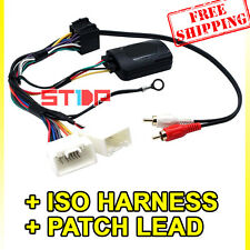 MITSUBISHI LANCER 2007-2013 STEERING WHEEL CONTROL HARNESS + ISO + PATCH LEAD