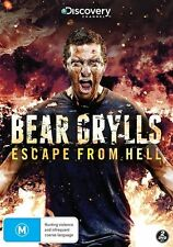 Bear Grylls - Escape From Hell  (DVD, 2014, 2-Disc Set) BRAND NEW FREE POST!