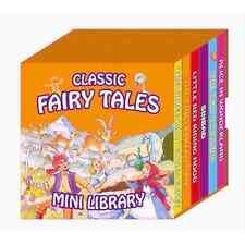 FAIRY TALES MINI LIBRARY SET OF 6 BOARD BOOKS OF CLASSIC FAVOURITES 1972/FTML