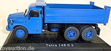 Tatra 148 S 3 blau LKW Kipper 1:43 Atlas 7167105 NEU in OVP  µ