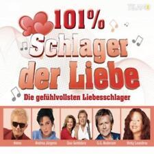 101% Schlager der Liebe - Die gefühlvollsten Liebesschlager 3 CD