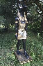 Ägyptische Figur 105 cm groß Dekofigur ANUBIS XXL, Gott