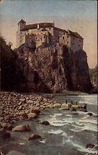 Bozen Bolzano Italien Color AK 1925 gelaufen Blick auf das Schloß Runkelstein