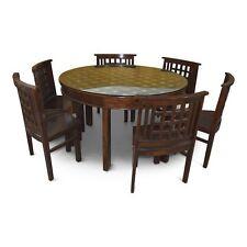 Esstisch Marsha mit 6 Stühlen, Indisch, Orientalisch