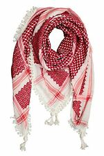 HIRBAWI Palestine Royal Lace Red KEFFiYEH SHEMAGH arab scarf