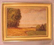 Altes Gemälde Rudolf Sieck Chiemsee Rosenheim