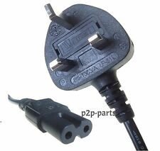 UNIVERSAL FIGURE 8 FUSED 1.5M MAINS POWER LEAD CABLE CORD XBOX SKY PS3 TV LED UK
