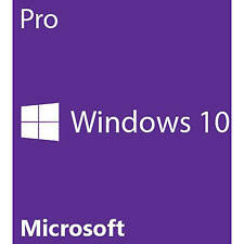 Windows 10 Professional 64 Bit SP1 OEM DVD + Produkt - KEY Deut/Multi Vollver.