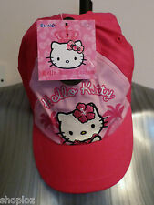 Girls M&S Age 6-10 Years Hello Kitty Cap Hat Bnwt Pink £7